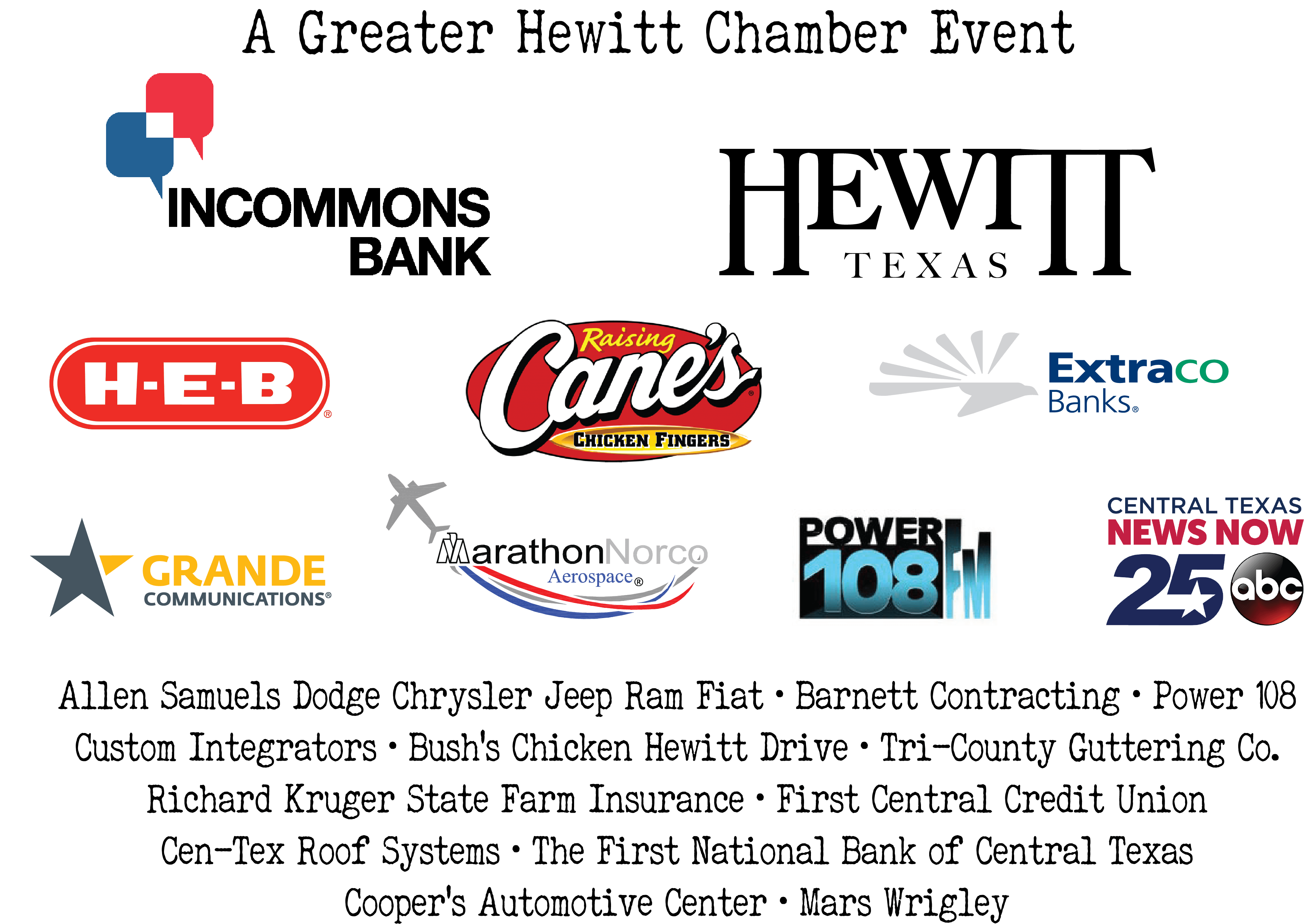 Spooktacular - Greater Hewitt Chamber of Commerce