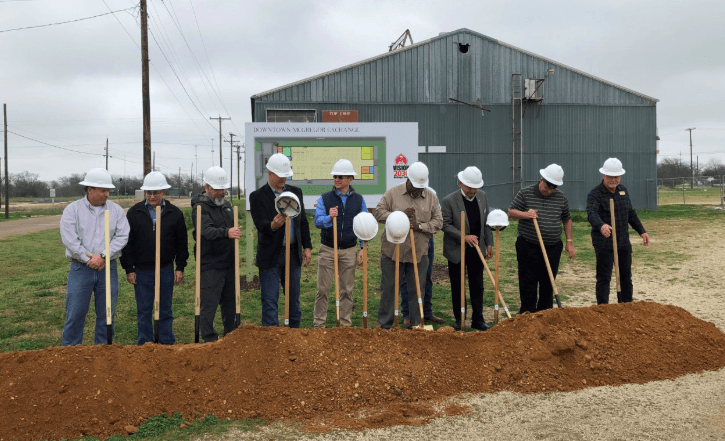 Groundbreaking Ceremony Held for New Community Center in McGregor, TX